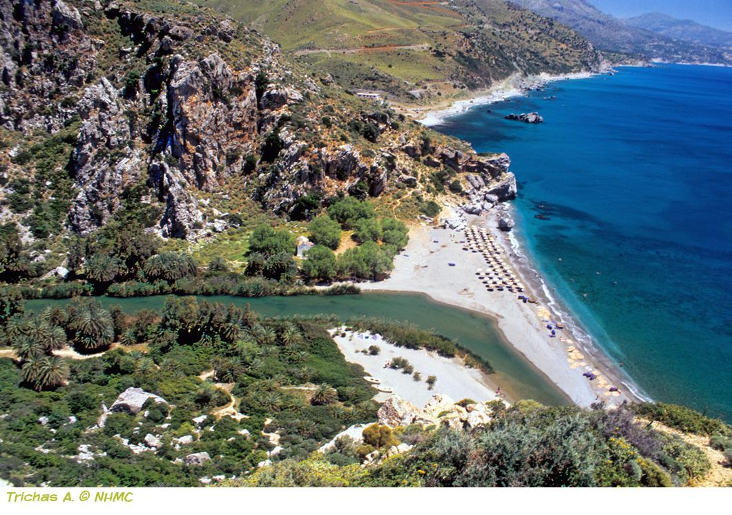 Preveli –Gorge Kourtaliotis -Monastery of Preveli