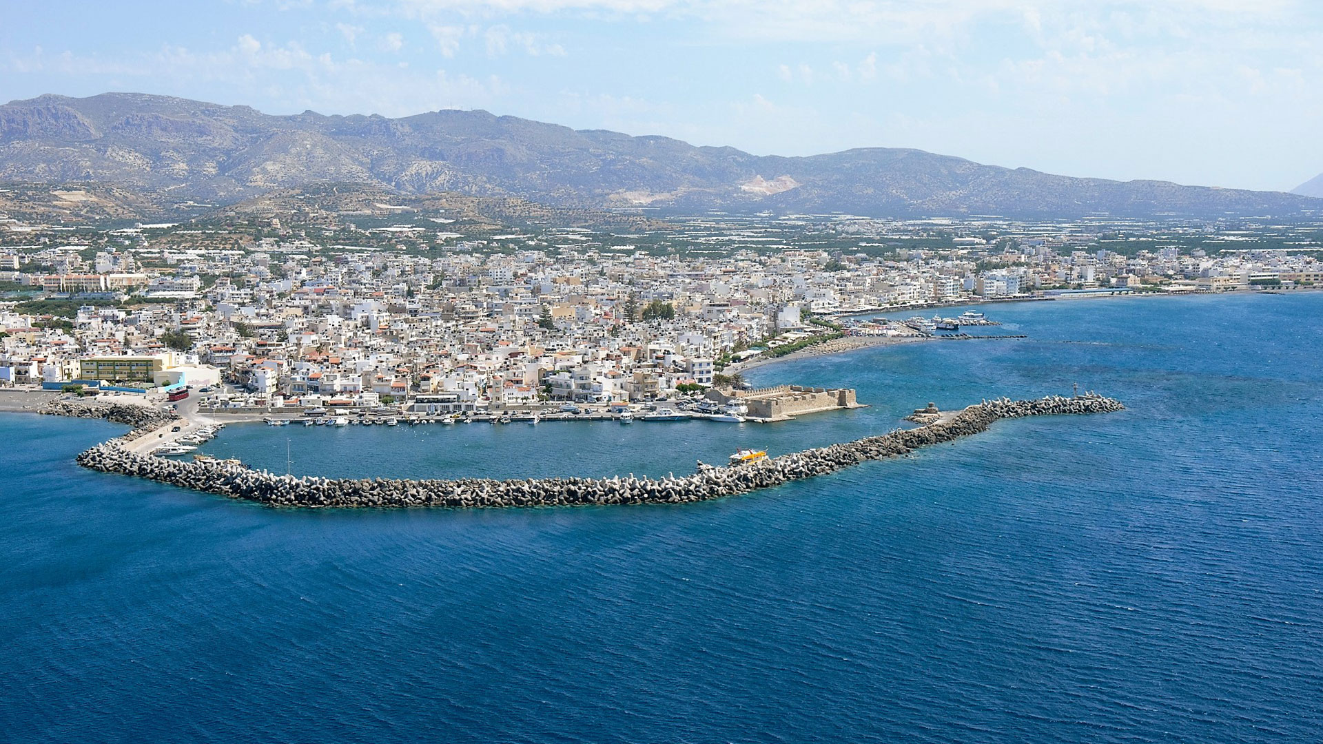 Ierapetra – Chrissi Island-Kales Fortress Ierapetra-Minoan town of Gournia