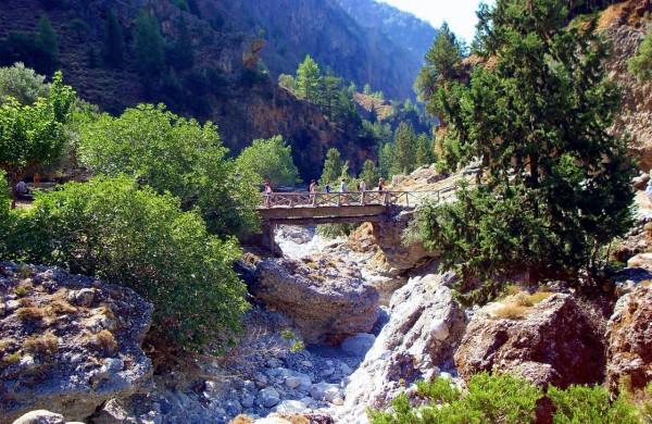 Samaria Gorge-Omalos-Sfakia- Agia Roumeli