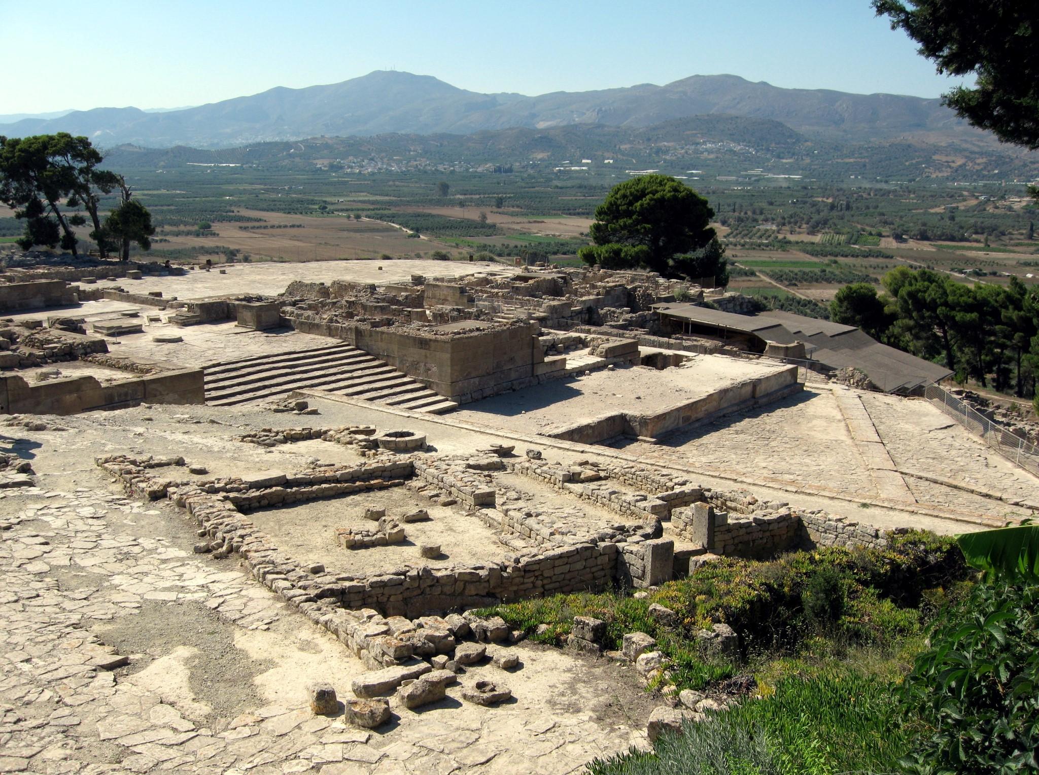 Phaistos-Gortyna-Matala-Agia Triada